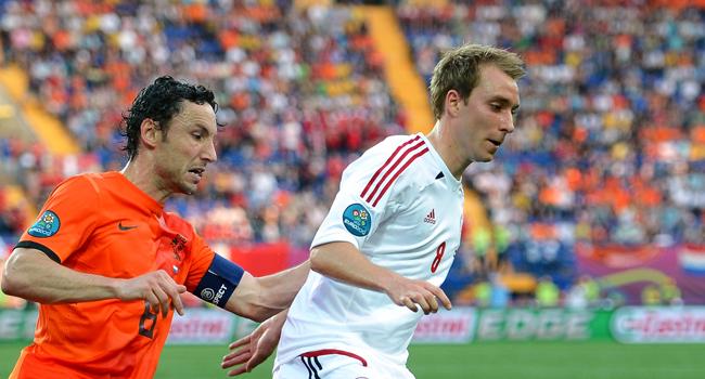 Nederland - Denemarken EK voetbal 2012
