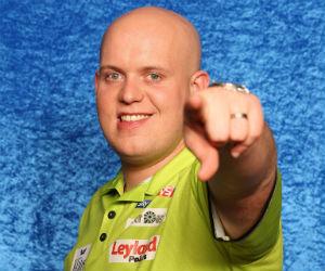 WK Darts winnaar Michael van Gerwen VI Images