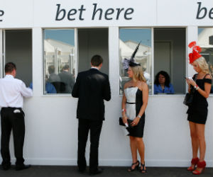 Paardenraces wedden Getty