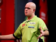Live streamin Gerwen German Darts Championship 2014 getty