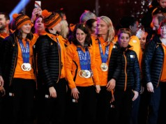 Olympische Winterspelen 2014 Sotsji huldiging sporters Assen en Den Haag Getty