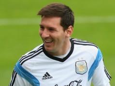 Lionel Messi Argentinië - venezuela Copa America 2016 getty