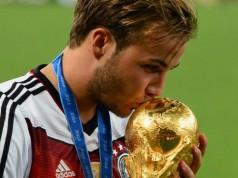 Duitsland wereldkampioen voetbal WK voetbal 2014 Getty