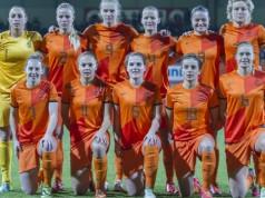 OKT vrouwenvoetbal Nederland VI Images