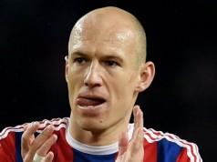 DFB Bokal Arjen Robben Bochum - Bayern Munchen Getty