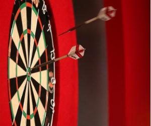Promotie darten - gratis wedden en dubbel winst met darts bet Getty