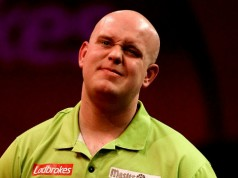 Michael van Gerwen Champions League of Darts getty