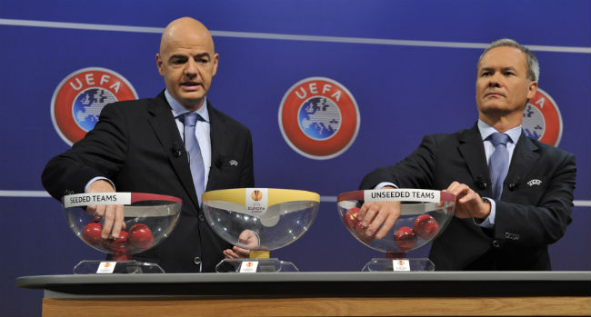 Champions League Loting Picture: Ajax In Derde Voorronde Champions League
