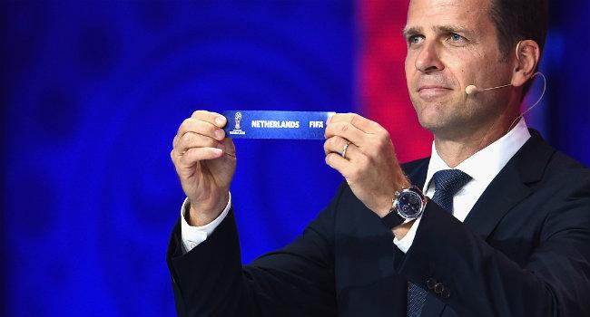 Nederland Loting WK 2018 kwalificaties Getty