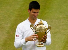 Novak Djokovic Wimbledon 2015 winnaar Getty