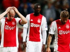 Ajax verliest van Rapid Wien Champions league 2015 getty