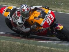 Marc Marquez van start vanaf pole bij de MotoGP van Aragon Getty