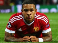 Memphis Depay Manchester United Champions League Getty