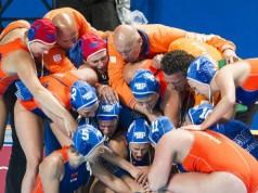 wk finale waterpolo Nederland vs VS vi images