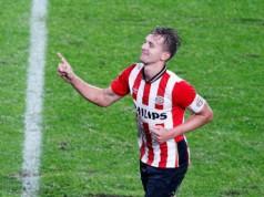 Luuk de Jong niet mee SCKA Moskou - PSV Champions league getty