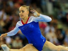 Lieke Wevers in finale WK turnen 2015 getty