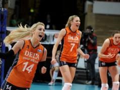 Finale EK volleybal dames Nederland - Rusland vi images