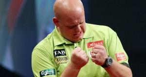 Unibet masters darts Michael van Gerwen Getty