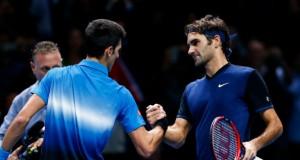 Novak Djokovic - Roger Federer halve finale australian open 2016 getty