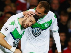 Bas Dost Wolfsburg Bundesliga Getty