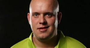 Michael van Gerwen premier league of darts 2016 Getty