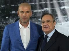 trainer Real Madrid Zinedine Zidane Getty