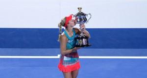 Angelique Kerber winnaar Australian Open 2016 getty
