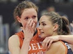 LIVE Nederland - Italië halve finale OKT Volleybal vrouwen Getty