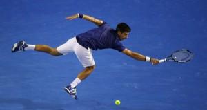 Novak Djokovic - Andy Murray finale Australian Open tennis 2016 getty