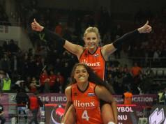 finale okt volleybal nederland - rusland vi images