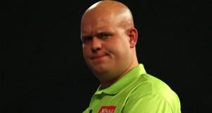 Michael van Gerwen Unibet Master Darts Getty