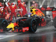 Formule 1: Max Verstappen start van tweede rij GP Hongarije Getty