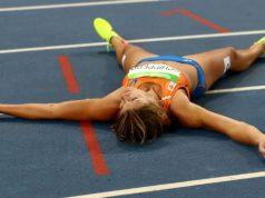 Dafne Schippers zilver 200 meter Olympische Spelen: zwaar teleurgesteld Getty