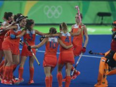 OS 2016 halve finale vrouwen hockey nederland - duitsland getty