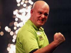 Wedden op darts tips Michael van Gerwen - Gary Anderson Finale WK Darts Getty