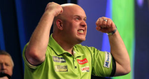 Michael van Gerwen favoriet bookmakers Premier League Darts play offs | Getty