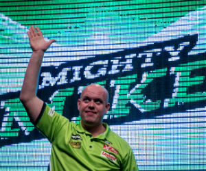 Online poker spelen Michael van Gerwen goksites pokeren Getty