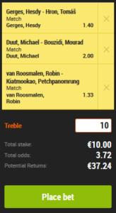 Voorspellen en gokken op kickboksen glory 41 Den Bosch