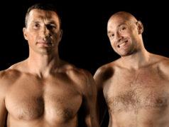 Rematch Anthony Joshua - Wladimir Klitschko Tyson Fury wedden op boksen Getty