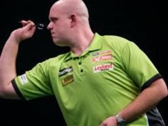 Wedden darten Michael van Gerwen favoriet Premier League Darts voorspellen Getty
