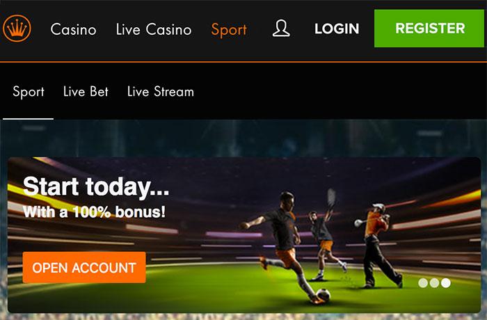 Bookmaker Kroon Casino Sport