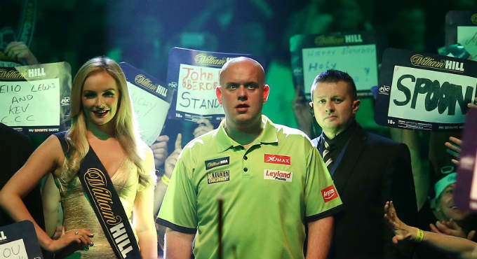 WK darts 2019 wedtips: Michael van Gerwen voorspellingen bookmakers | Getty