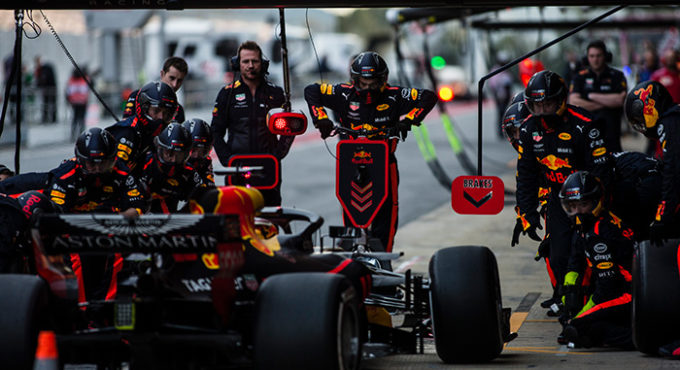bandenwissel Formule 1 | Getty