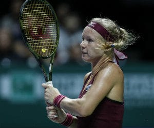 Wedden op Kiki Bertens WTA Finals tennis bookmakers | Getty