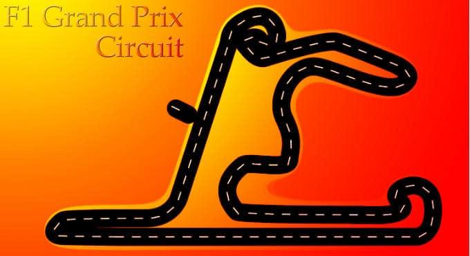 Formule 1 circuit China