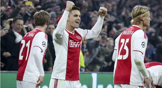 Wedden tips Ajax Champions League bookmakers | Getty