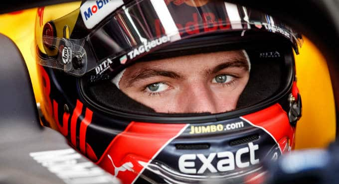 Max Verstappen GP China Formule 1 bookmakers | Getty