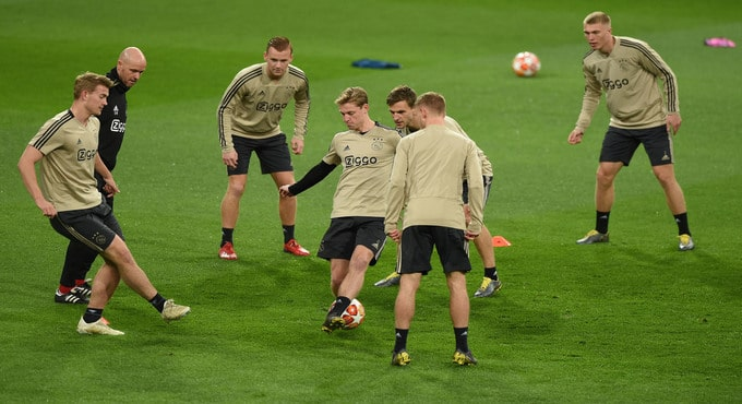 Gokken Ajax champions league bookmakers | Getty