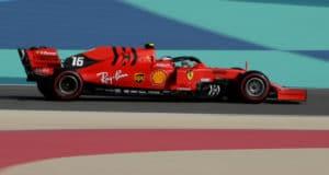 Favoriet winst bookmakers: Charles Leclerc op pole Formule 1 GP Bahrein - Verstappen 5de | Getty