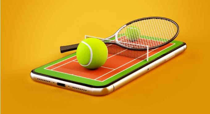 Live streaming tennis kijken bij bookmakers